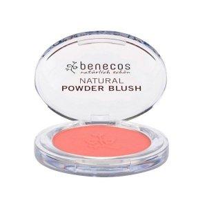 Benecos - Natural Powder Blush naturalny róż do policzków Sassy Salmon 5.5g
