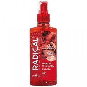 Farmona - Radical Shine Mist nabłyszczająca mgiełka ochraniająca kolor do włosów farbowanych i z pasemkami 200ml