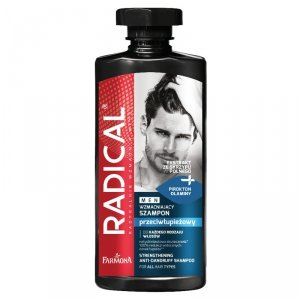 Farmona - Radical Men Strengthening Anti Dandruff Shampoo wzmacniający szampon przeciwłupieżowy 400ml