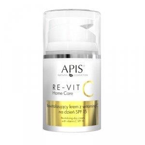 Apis - Re-Vit C Home Care rewitalizujący krem z witaminą C na dzień SPF15 50ml