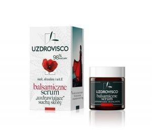 Uzdrovisco - Balsamiczne serum do twarzy ''uzdrawiające suchą skórę'' Mak 25ml