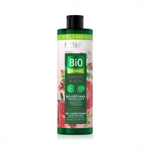 Bio Organic bioodżywka chroniąca kolor do włosów farbowanych i z pasemkami Granat & Acai 400ml
