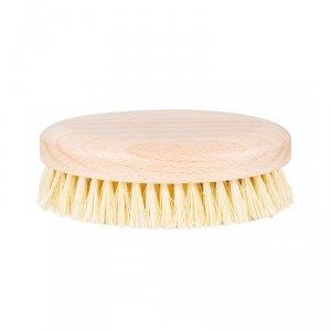 Hhuumm - Szczotka do masażu i mycia ciała twarde włókno tampico wersja krótka bez paska