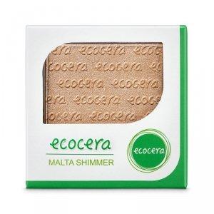 Ecocera - Shimmer Powder puder rozświetlający Malta 10g