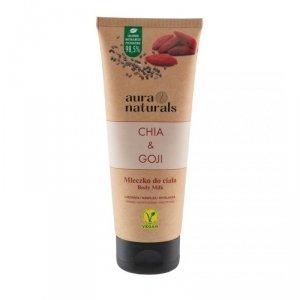 Aura naturals - Chia & Goji mleczko do ciała 200ml