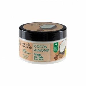 Aura naturals - Coco & Almond masło do ciała 250ml