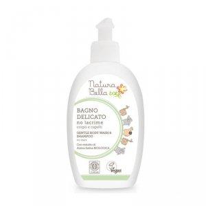 Natura bella baby - Delikatny płyn do kąpieli i szampon 2w1 dla dzieci 300ml