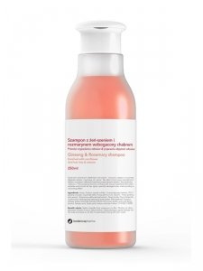Botanicapharma - Ginseng & Rosemary Shampoo szampon przeciw wypadaniu włosów z żeń-szeniem i rozmarynem 250ml