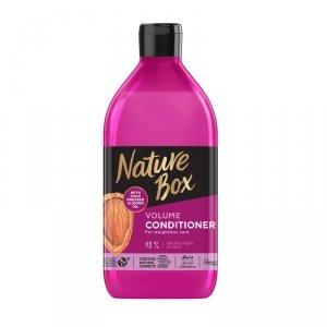 Nature box - Volume Conditioner odżywka do włosów Almond Oil 385ml