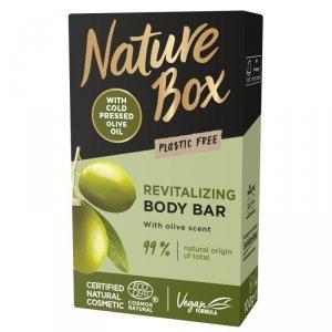 Nature box - Revitalizing Body Bar rewitalizująca kostka myjąca do ciała Olive 100g