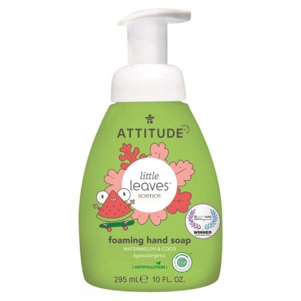 Attitude, Little Ones, Mydło w piance do rąk dla dzieci, Arbuz i Kokos, 295 ml