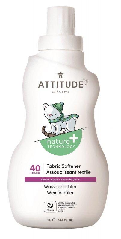 Attitude, Płyn do płukania ubranek dziecięcych, Sweet Lullaby, 1L