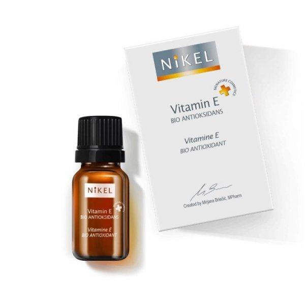 NIKEL, Witaminowe serum 100% naturalne z witaminą E, 10ml