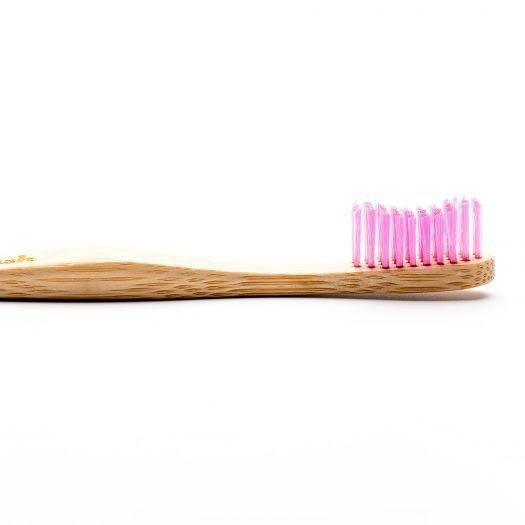 Humble Brush, Bambusowa szczoteczka do zębów, Soft, różowa