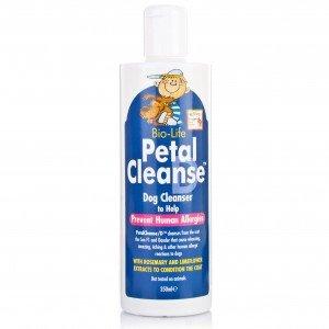 BIOLIFE PETAL CLEANSE D Płyn oczyszczający dla psów, zapobiegający alergii u ludzi, 350ml