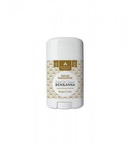 BEN & ANNA Naturalny Dezodorant na bazie Sody INDIAN MANDARINE (sztyft plastikowy) 0% Aluminium 60g