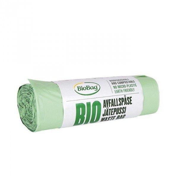 BIOBAG Worki 35L 100% biodegradowalne i kompostowalne rolka 20 sztuk