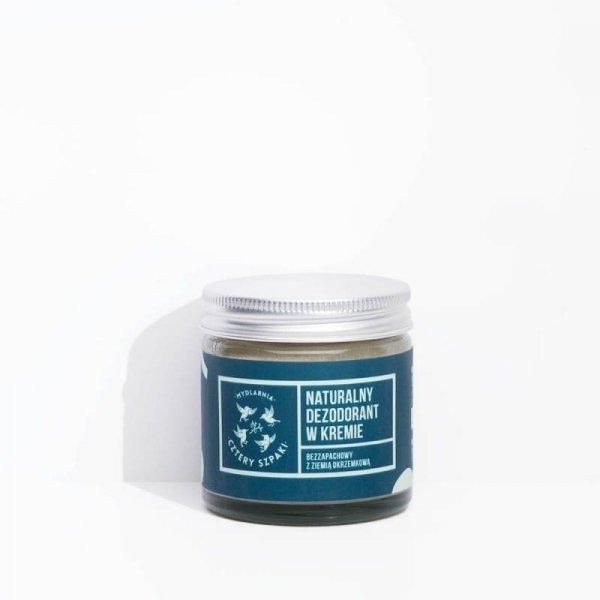 CZTERY SZPAKI Dezodorant w kremie bezzapachowy bez aluminium 60ml