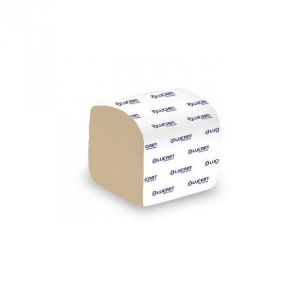 LUCART PROFFESIONAL Papier toaletowy z recyklingu, w listkach do dozownika