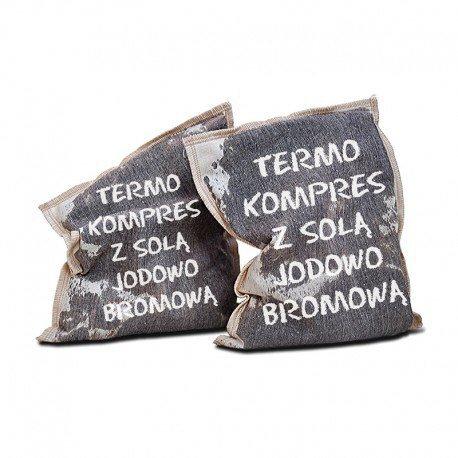 SHAMASA Termo Kompres z solą Jodowo-bromową 1 szt