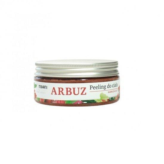 MOHANI Wild Garden Nawilżający peeling do ciała ARBUZ 150g