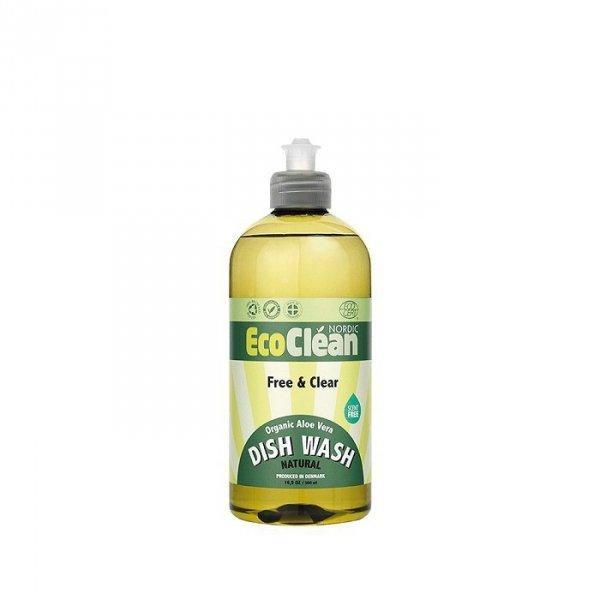 EcoClean Bezzapachowy płyn do mycia naczyń 500ml
