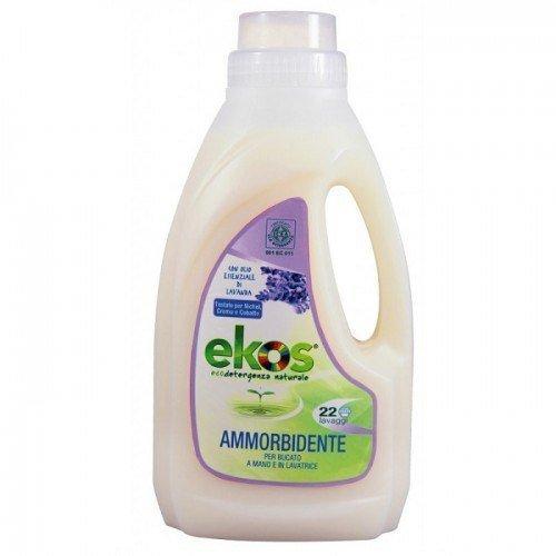 Pierpaoli EKOS Zmiękczający płyn do płukania tkanin z dodatkiem olejku lawendowego 1 L