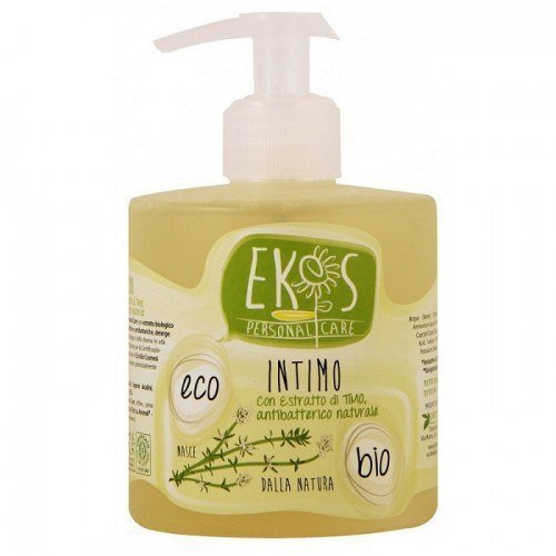 Pierpaoli EKOS PERSONAL CARE Łagodzący płyn do higieny intymnej z ekstraktem z organicznego Tymianku 350ml