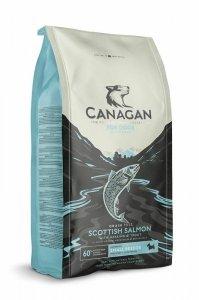 Canagan Small Breed Scottish Salmon 2kg Z łososiem Bez zbóż dla psów małych ras z alergiami pokarmowymi