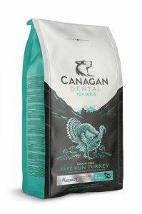 Canagan Free-Run Turkey Dental 6kg Sucha karma dla psów przeciw kamieniowi nazębnemu