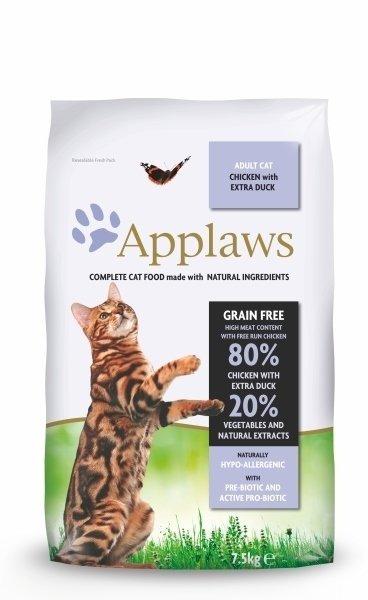 Applaws Kurczak i Kaczka 2 kg bezzbożowa dla kota