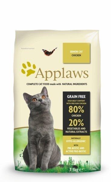 Applaws Senior z Kurczakiem 400g dla kota