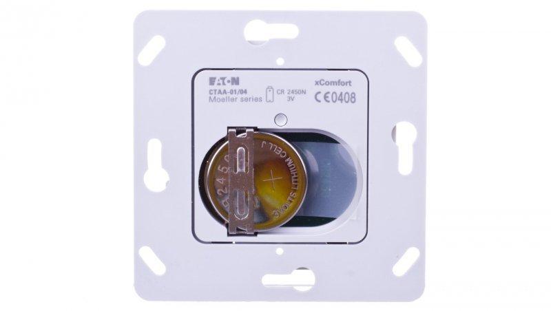 xComfort Bezprzewodowy nadajnik do klawisza pojedynczego (podtynkowy) CTAA-01/04 125969