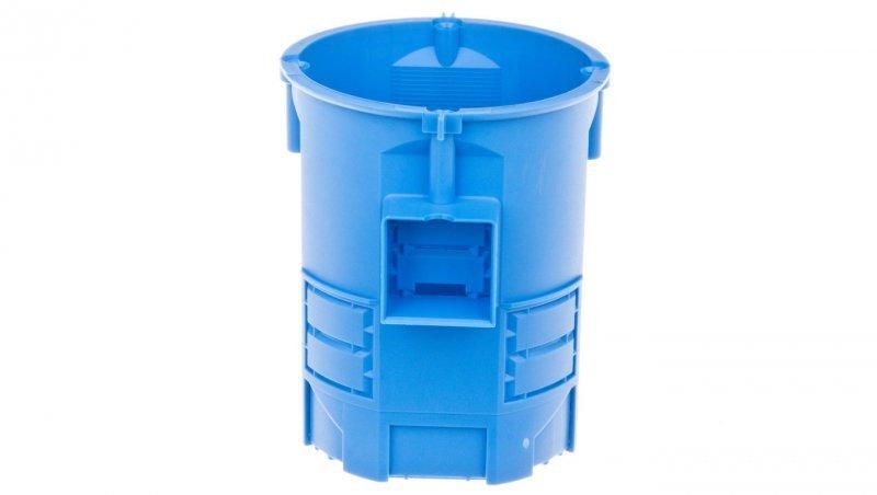 Puszka podtynkowa fi 60mm niebieska 80mm głębokości S60G 34008203 /35szt./