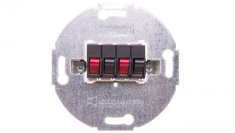 Merten Wklad przyłącza głośnikowego podwójnego antracyt MTN467014