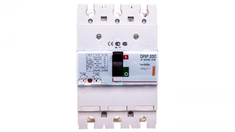 Wyłączniki mocy 3P 250A 25kA DPX3 250 420209