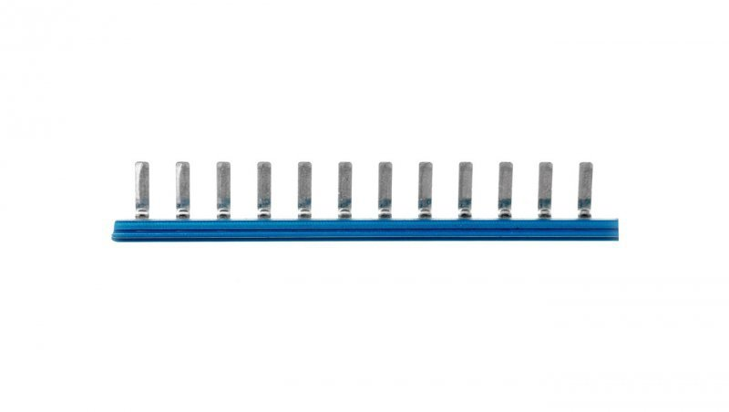 Mostek poprzeczny wtykowy 80-torowy niebieski EB-80 DIK BU 2715940