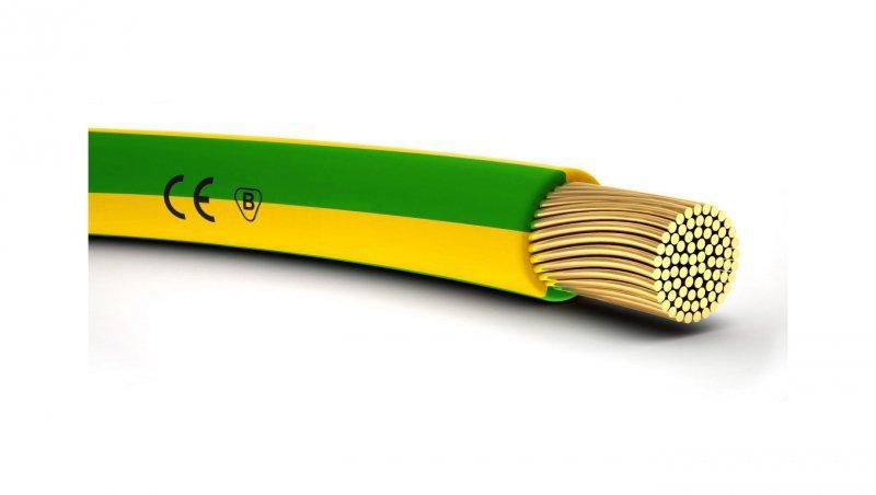 Przewód instalacyjny H07V-K 16 żółto-zielony 4520006 /bębnowy/