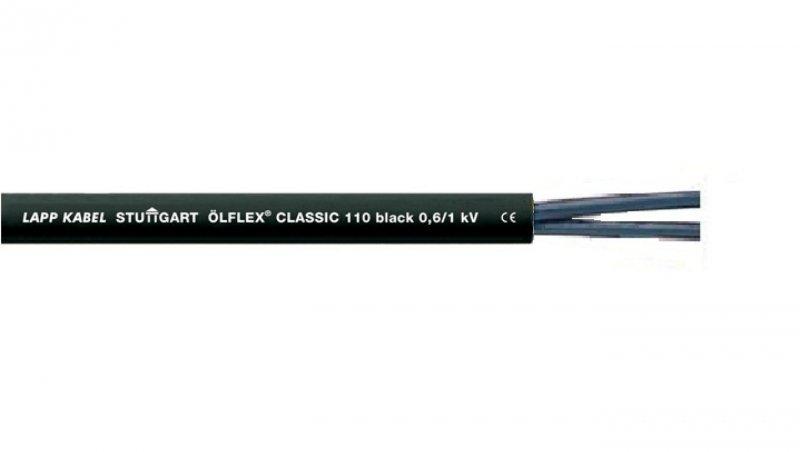 Przewód sterowniczy OLFLEX CLASSIC 110 Black 0,6/1kV 2x1 1120266 /bębnowy/