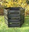 Komposter 1050 L schwarz
