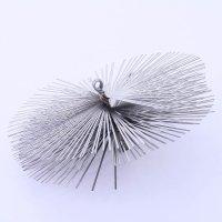 Schornsteinbesen Kaminbesen aus Federstahl 22,5cm