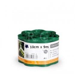 Rasenkante 10cm x 9m in dunkelgrün