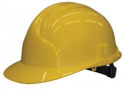 Bauarbeiterhelm Bauhelm Helm Schutzhelm Farbe gelb