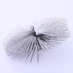Schornsteinbesen Kaminbesen aus Federstahl 13cm