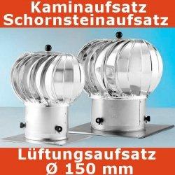 Turbo Kaminaufsatz Schornsteinaufsatz 150 mm
