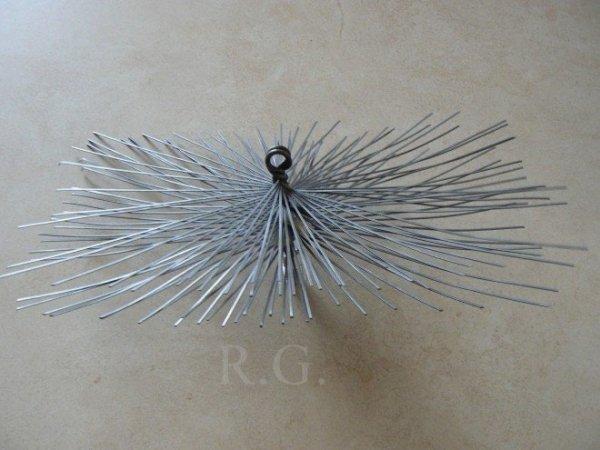 Schornsteinbesen Rechteckig Kaminbesen aus Stahl 16 x 20cm