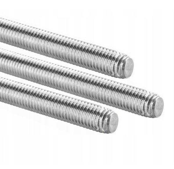2 x Gewindestange M8 x 1000 mm DIN 975 976 verzinkt 4.8