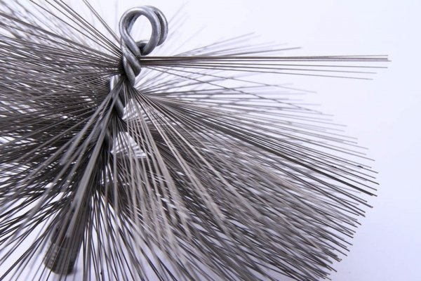 Schornsteinbesen Kaminbesen aus Stahl 20cm