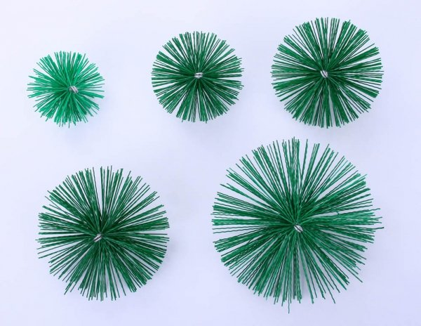Schornsteinbesen Kaminbesen aus Kunststoff 18cm