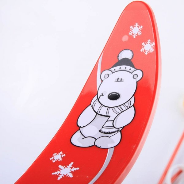 Kinderski Babyski Lernski 70cm Rot